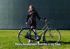 VIDEO - Amsterdam Loves Bikes / Masha je vodja ekipe Het JONGE TULPEN