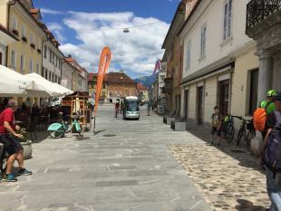 Rekreatur sprejel prve kolesarske turiste na bodoči Savski kolesarski poti