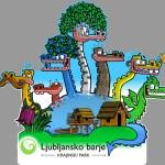 Sedemglavi zmaj  varuje zaklade Ljubljanskega barja