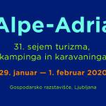 Rekreatur na sejmu Alpe-Adria v Ljubljani